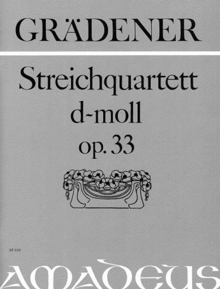 String Quartet in D minor op. 3