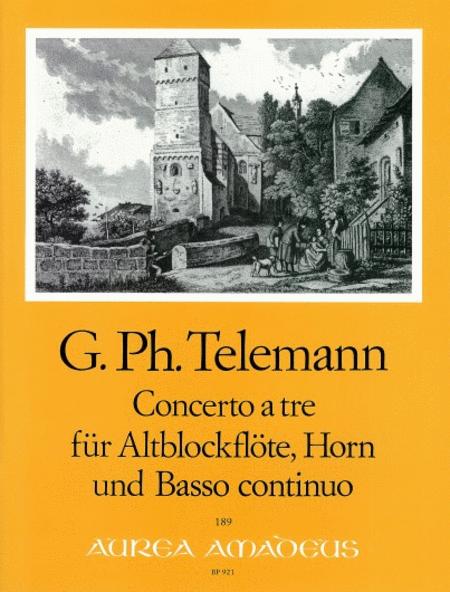 Concerto a tre F major TWV 42:F14