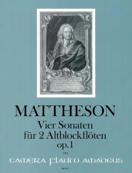 4 Sonatas Op. 1