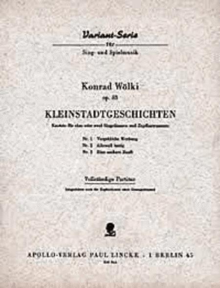 Kleinstadtgeschichten op. 43