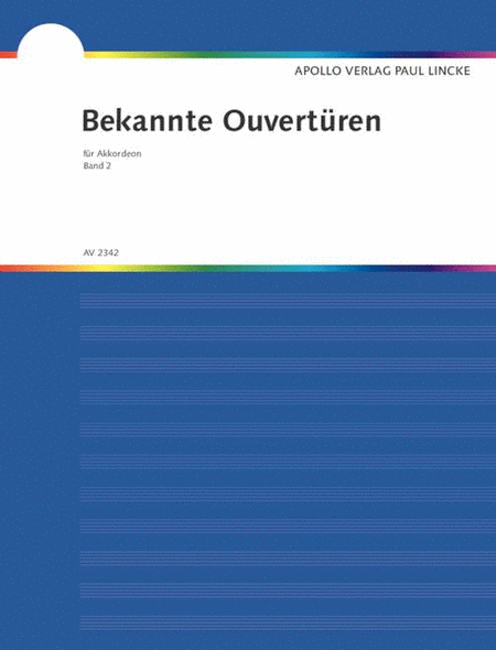 Bekannte Ouverturen - Band 2