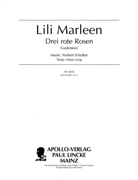 Lili Marleen / Drei rote Rosen