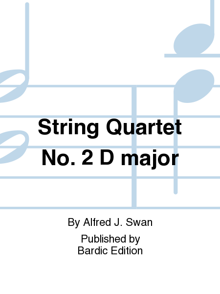 String Quartet No. 2 D major