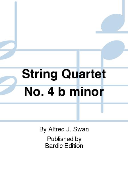 String Quartet No. 4 b minor