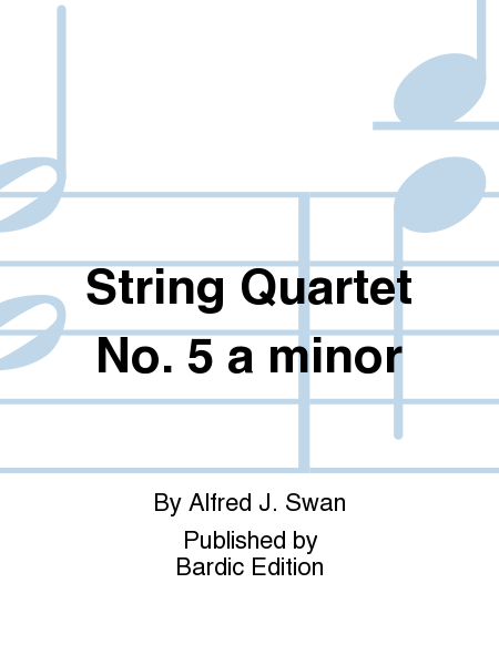 String Quartet No. 5 a minor