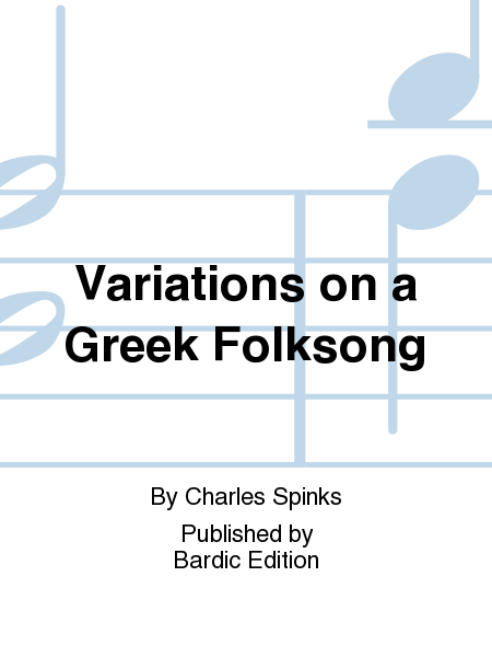 Variations on a Greek Folksong