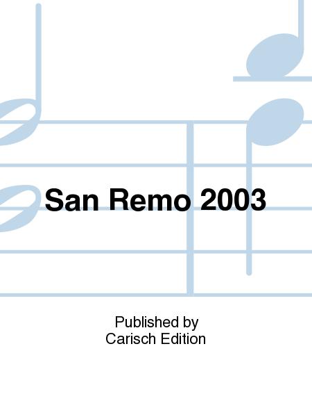 San Remo 2003
