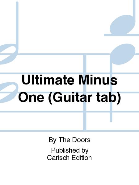 Ultimate Minus One (Guitar tab)