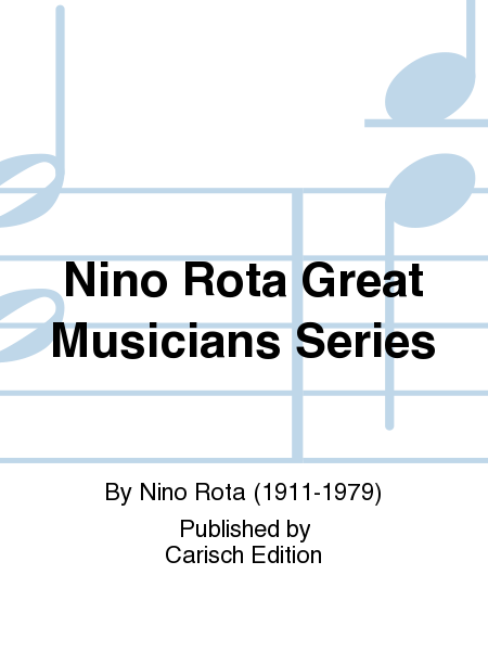 Nino Rota Great Musicians Series