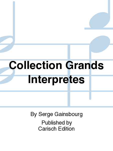 Collection Grands Interpretes