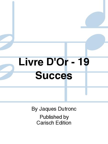 Livre D'Or - 19 Succes
