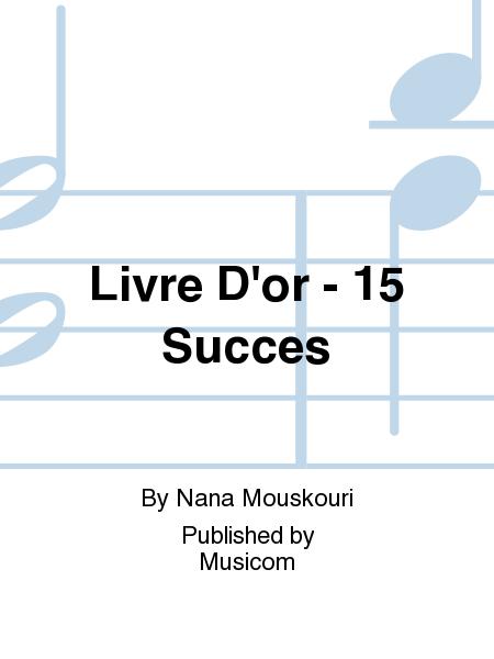 Livre D'or - 15 Succes