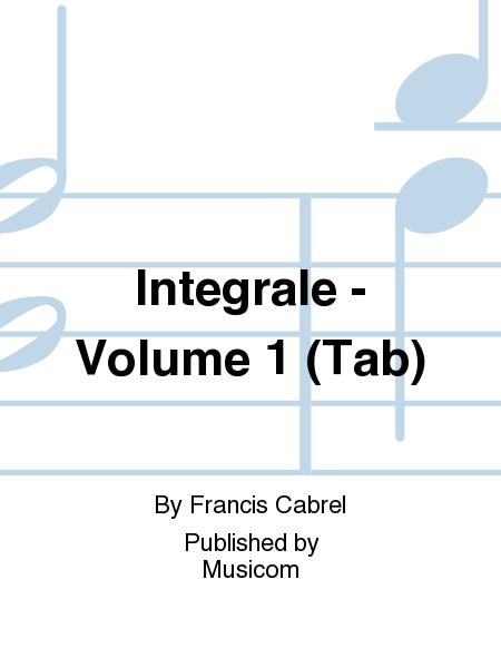 Integrale - Volume 1 (Tab)