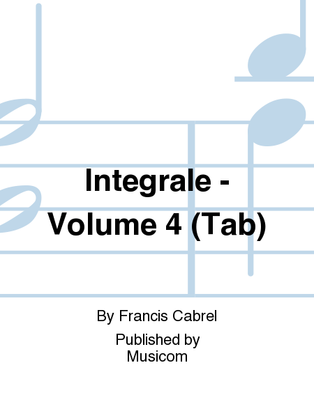 Integrale - Volume 4 (Tab)