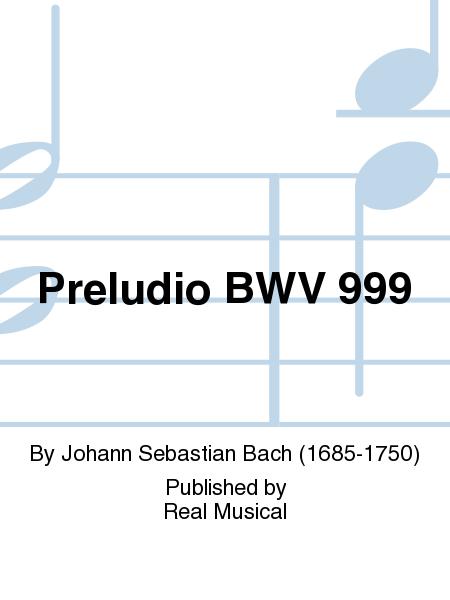 Preludio BWV 999