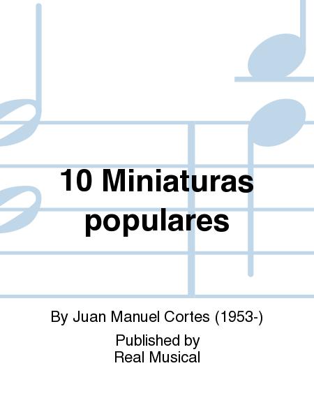 10 Miniaturas populares