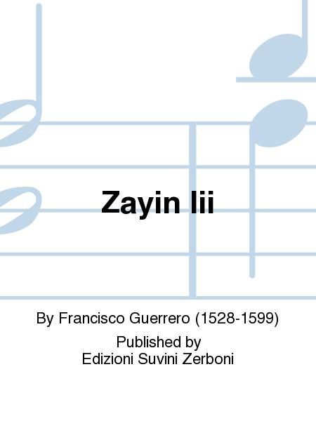 Zayin Iii