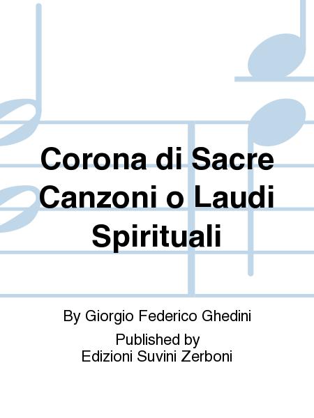Corona di Sacre Canzoni o Laudi Spirituali