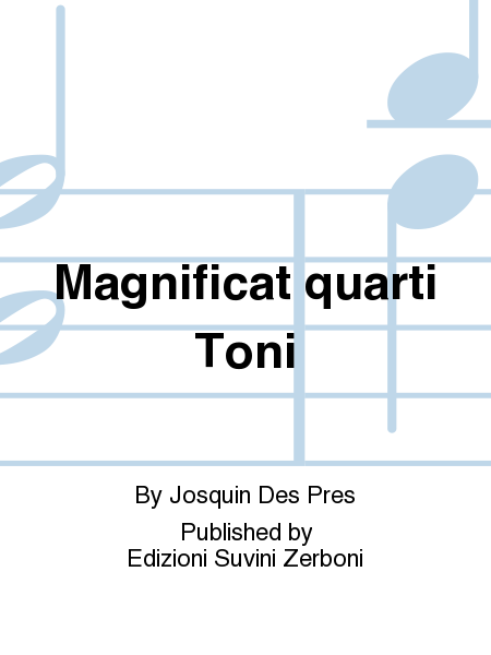 Magnificat quarti Toni