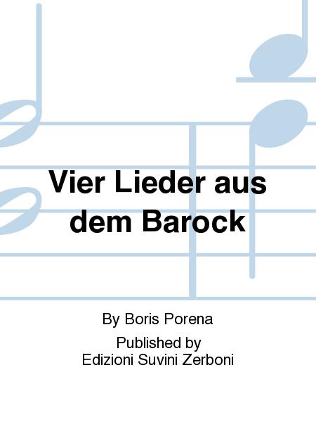Vier Lieder aus dem Barock