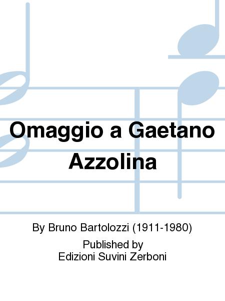 Omaggio a Gaetano Azzolina