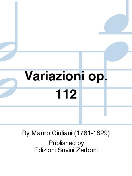 Variazioni op. 112