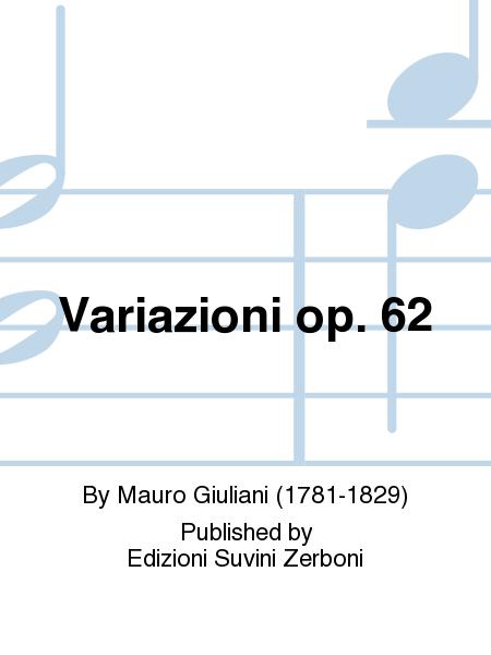 Variazioni op. 62