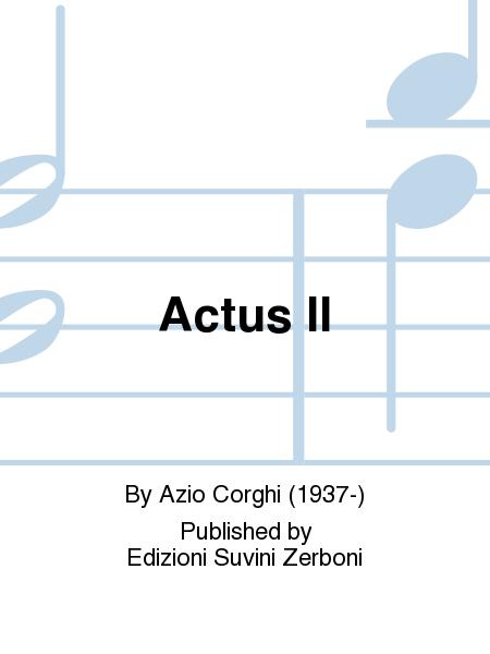 Actus II