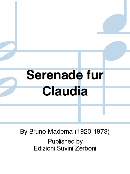 Serenade fur Claudia