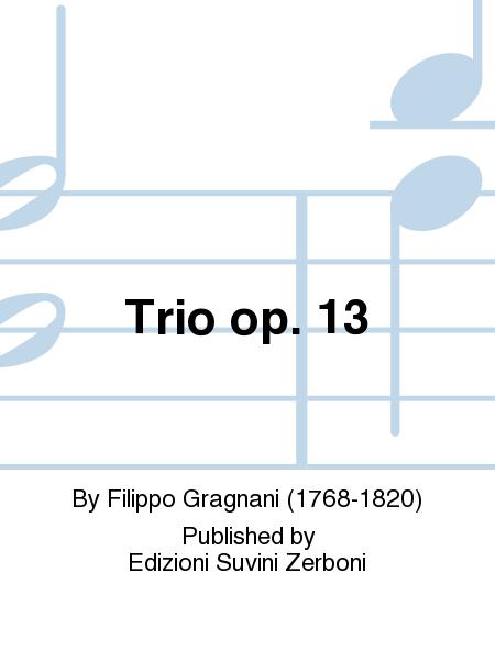 Trio op. 13