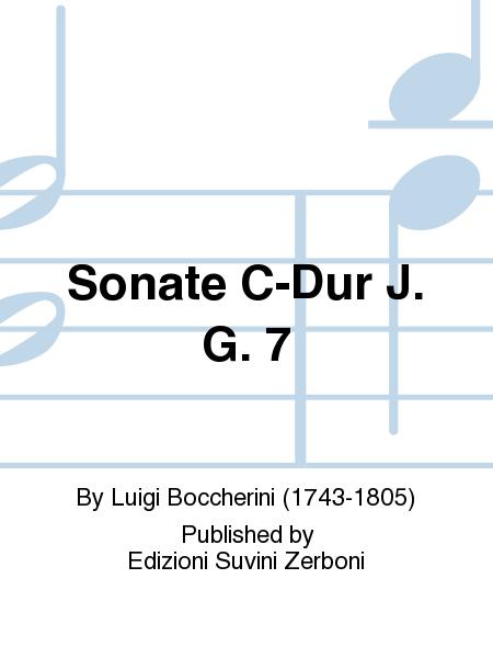 Sonate C-Dur J. G. 7