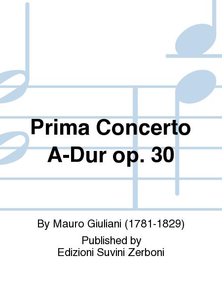 Prima Concerto A-Dur op. 30