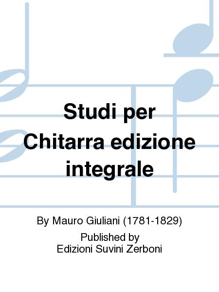 Studi per Chitarra edizione integrale