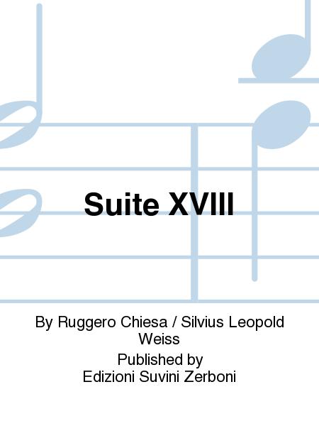Suite XVIII