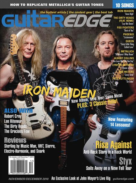 Guitar Edge Magazine November/December 2010