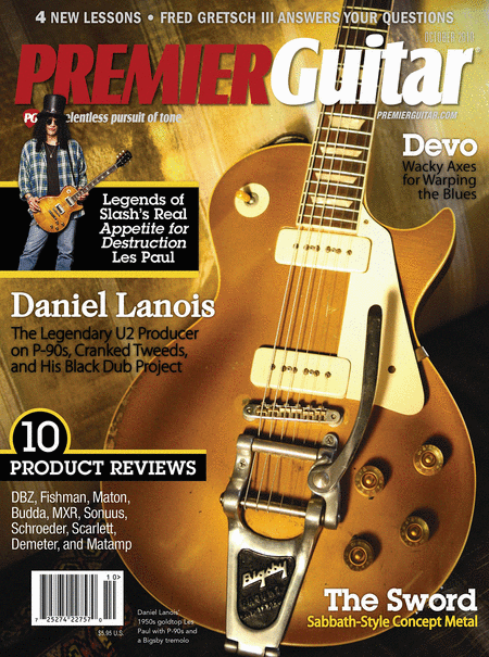 Premier Guitar Magazine October 2010