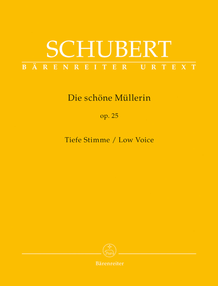 Die schone Mullerin, Op. 25 D 795