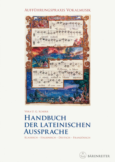 Auffuhrungspraxis Vokalmusik. Handbuch der lateinischen Aussprache