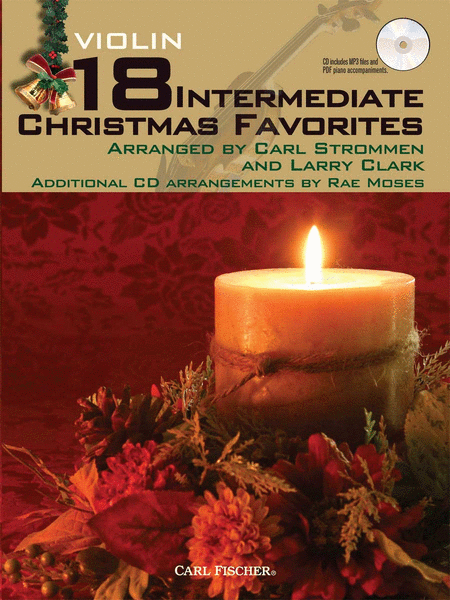 18 Intermediate Christmas Favorites - Violin
