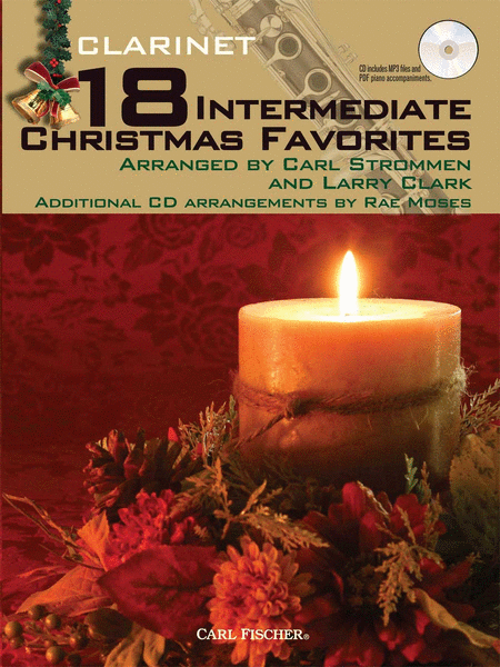 18 Intermediate Christmas Favorites - Clarinet