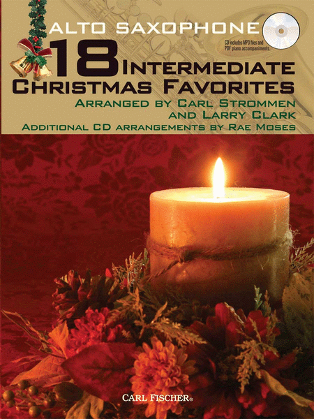 18 Intermediate Christmas Favorites - Alto Saxophone