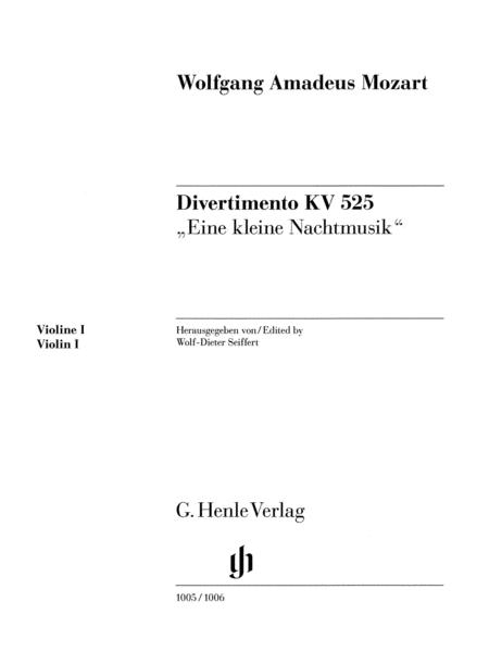 Divertimento K525 Eine kleine Nachtmusik