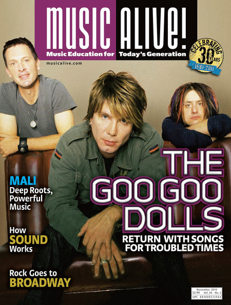 Music Alive Magazine - November 2010