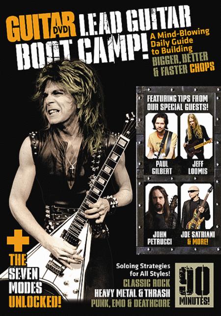 Guitar World -- Lead Guitar Boot Camp!