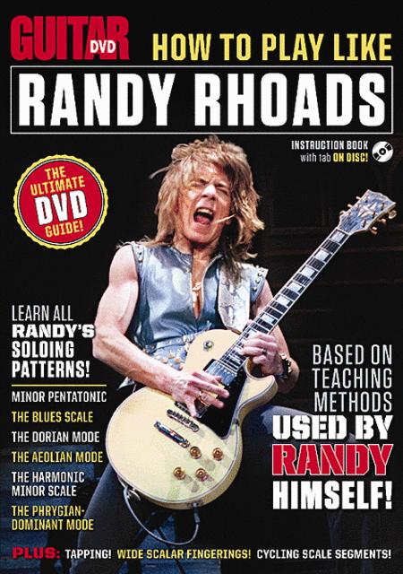 Guitar World -- How to Play Like Randy Rhoads
