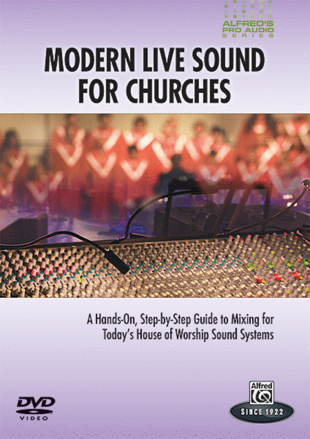 Alfred's Pro Audio -- Modern Live Sound for Churches