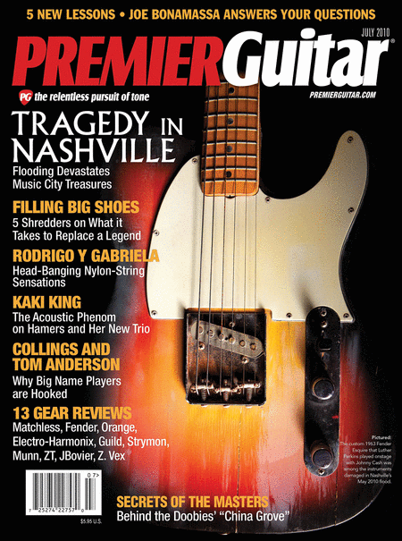 Premier Guitar Magazine July 2010