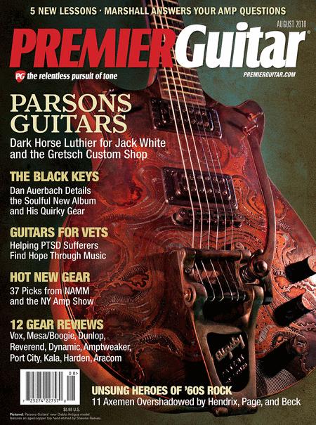 Premier Guitar Magazine August 2010