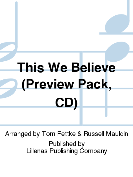 This We Believe (Preview Pack, CD)