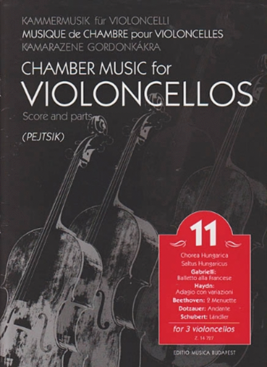 Chamber Music for Violoncellos, Vol. 11